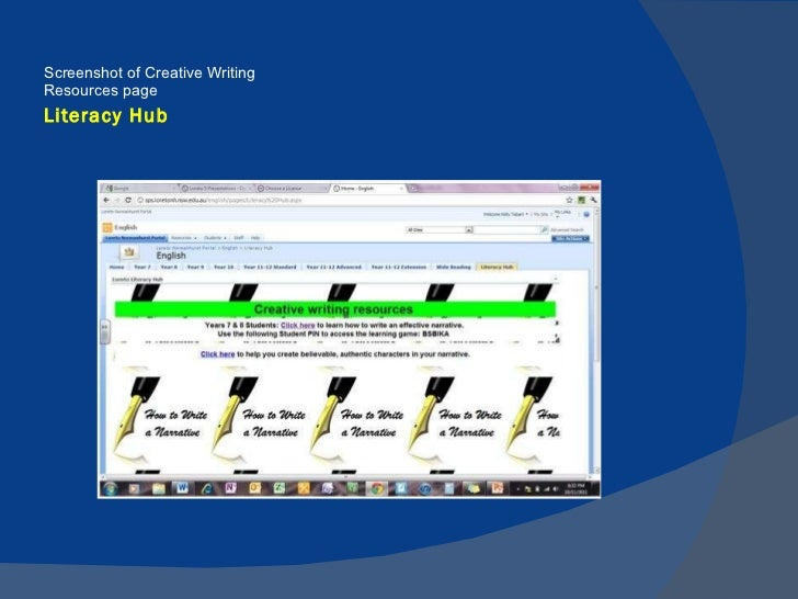 Loreto 5 - Literacy unlocks to door to learning throughout life Lore…