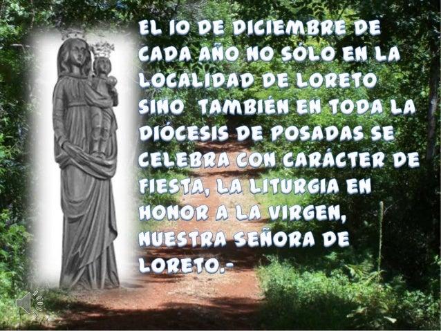 ¿Porqué María de    Loreto?