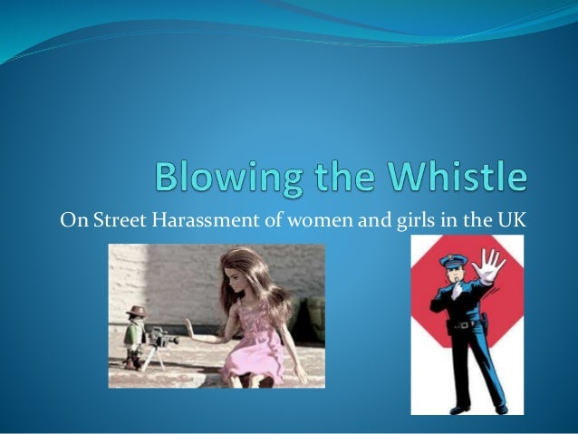 On Street Harassment of women and girls in the UK