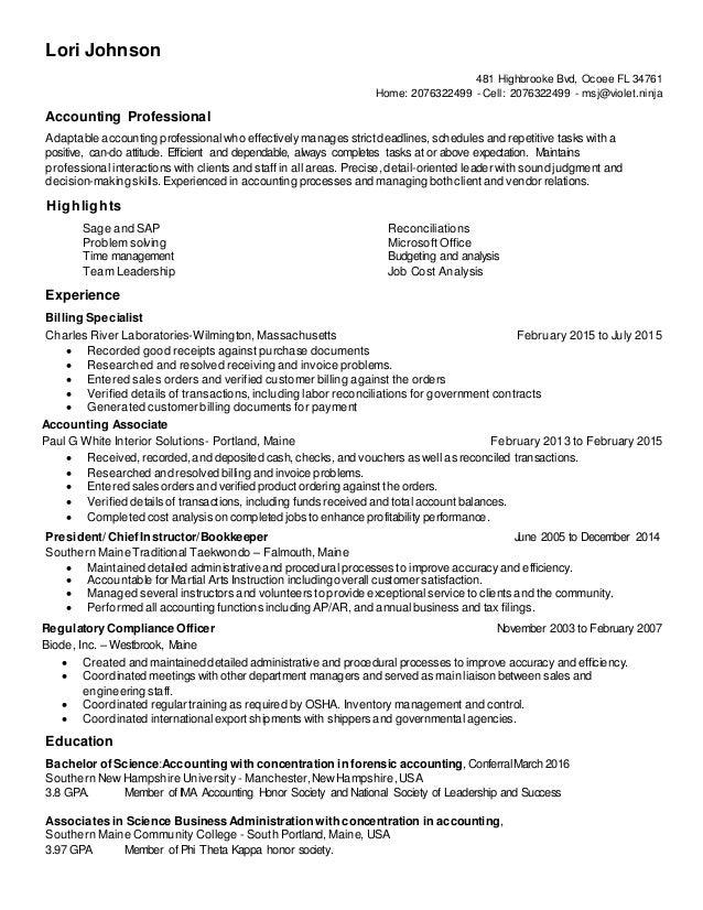 Elegant Resume Update  Update My Resume