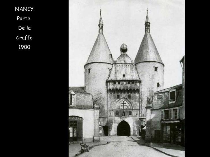 NANCY Porte  De la Craffe 1900