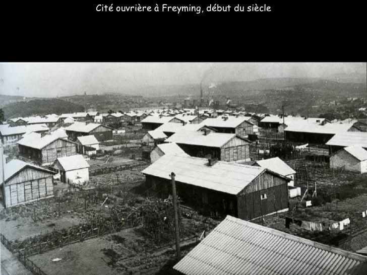 Cité ouvrière à Freyming, début du siècle