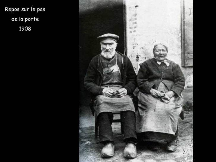 Repos sur le pas de la porte 1908
