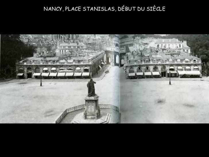 NANCY, PLACE STANISLAS, DÉBUT DU SIÈCLE