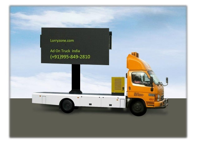 Ad On Truck | Advertising on Billboards | Advertising On Public Highway