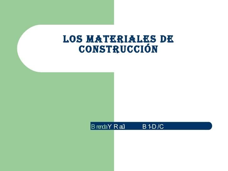 Los materiales de construcci n - Cano materiales de construccion ...