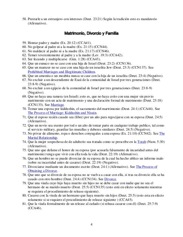 Los 613-mitzvot-mandamientos