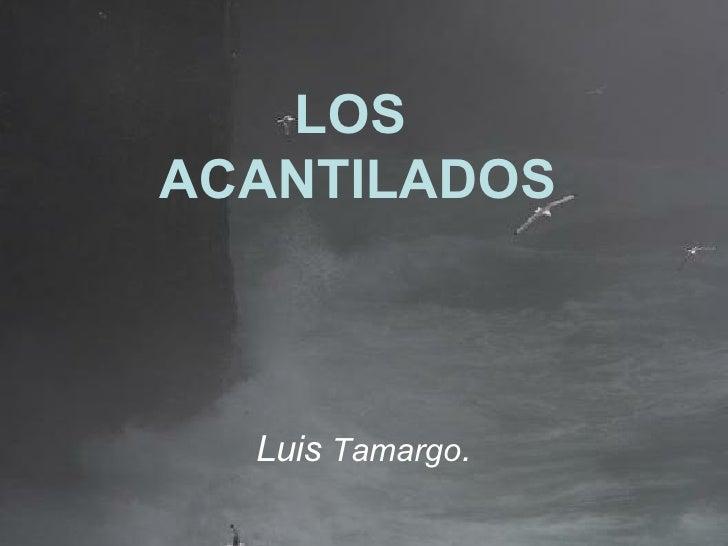 LOS  ACANTILADOS Luis  Tamargo .