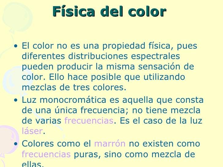 Los colores - Cual es el color anil ...