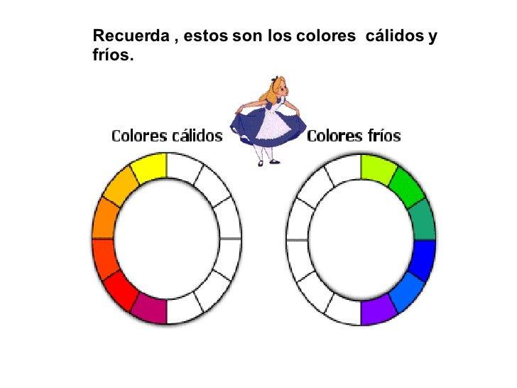 Los colores en las pinturas - Paisaje con colores calidos ...