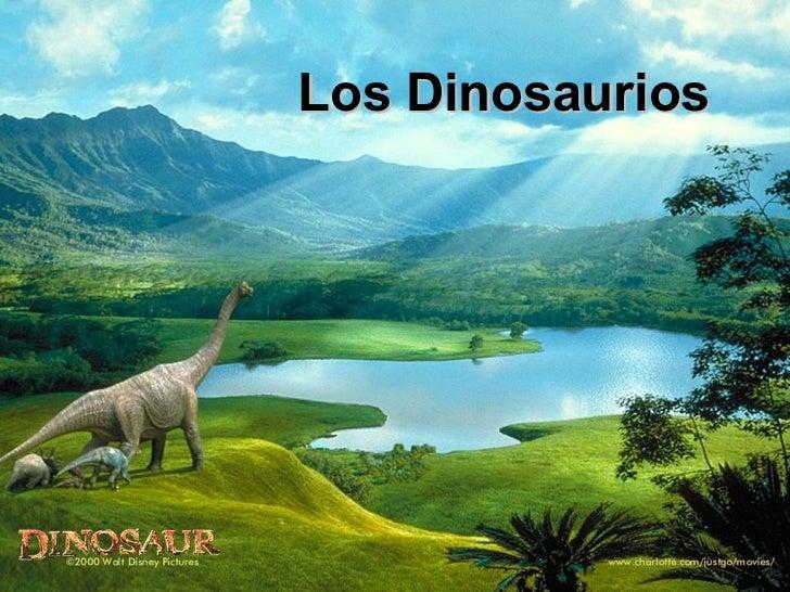 Los Dinosaurios  Los dinosaurios de la      prehistoria