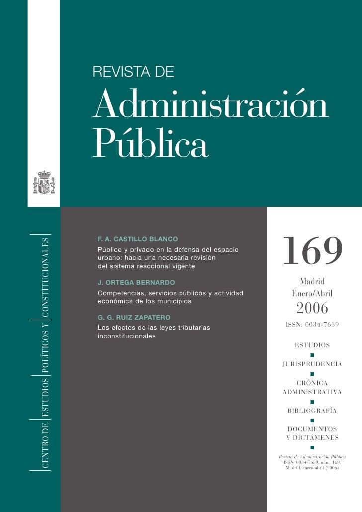 REVISTA DE                                                    Administración                                              ...