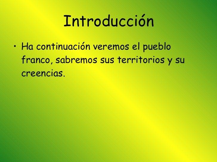 Los Francos Slide 2
