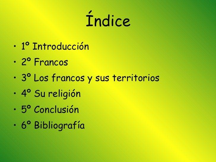 Los Francos Slide 3