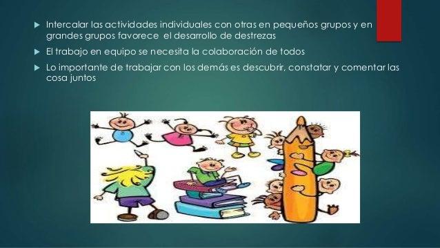 Los grupos de trabajo como generadores de destrezas orales. María Victoria Reyzábal Slide 3