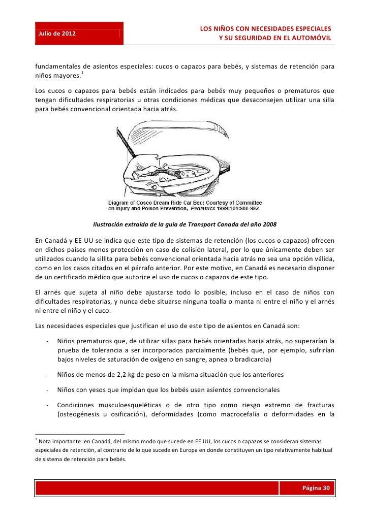 LOS NIÑOS CON NECESIDADES ESPECIALES    Julio de 2012                                                                     ...