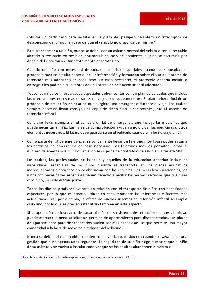 LOS NIÑOS CON NECESIDADES ESPECIALES                                                                                      ...