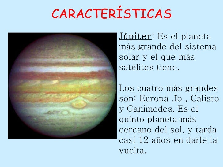 Caracter sticas de los planetas heavy square - Caracteristicas de los planetas interiores ...