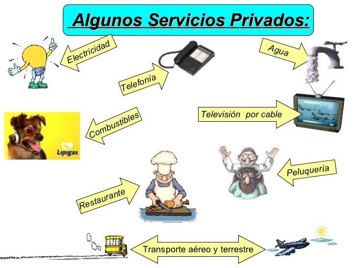 Los servicios for Tipos de servicios de un hotel