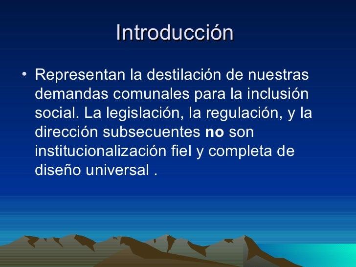 Los Siete Principios de Dise�o Universal Slide 3