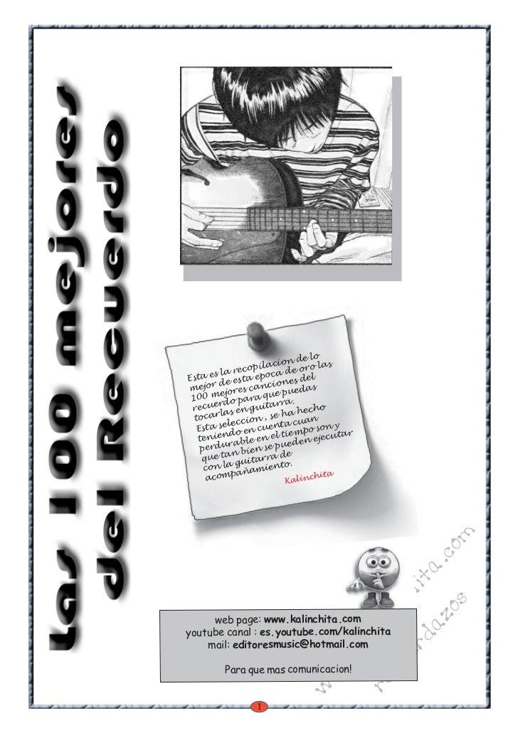 los 100 mejores recuerdazos pdf