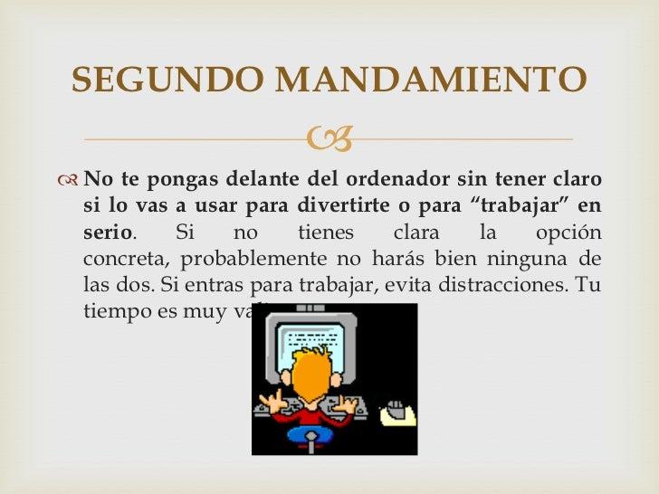 Los 10 mandamientos Slide 3
