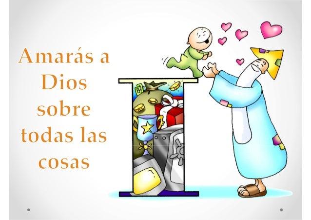 Los 10 mandamientos de la ley de Dios con imágenes de Fano Slide 2