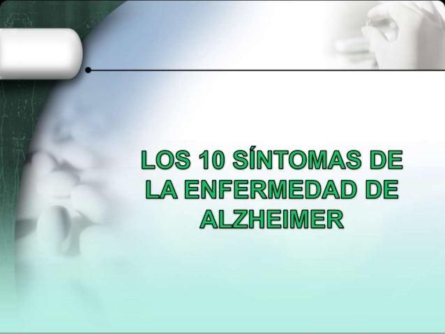 La pérdida de memoria que dificulta la vida cotidiana no es una parte normal del envejecimiento. La Alzheimer's Associatio...