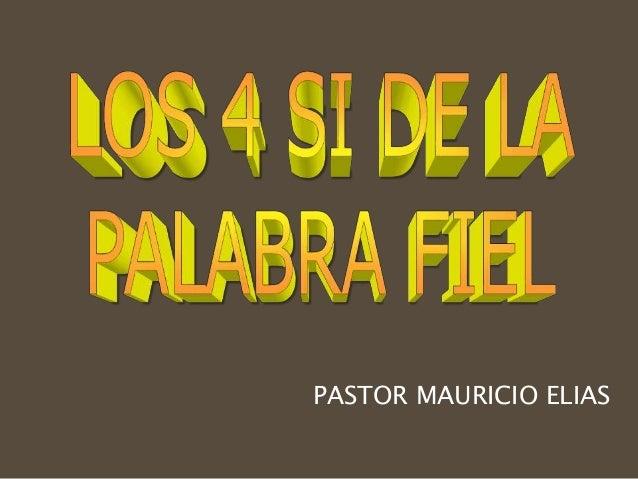 PASTOR MAURICIO ELIAS