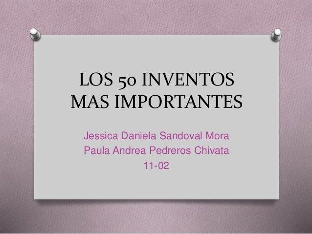 50 inventores famosos