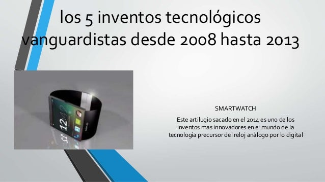 5 inventos tecnologicos nuevos