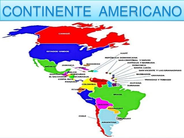 Los 6 continentes - Continente y contenido ...