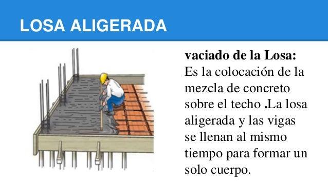 Losa aligerada for Losa techo