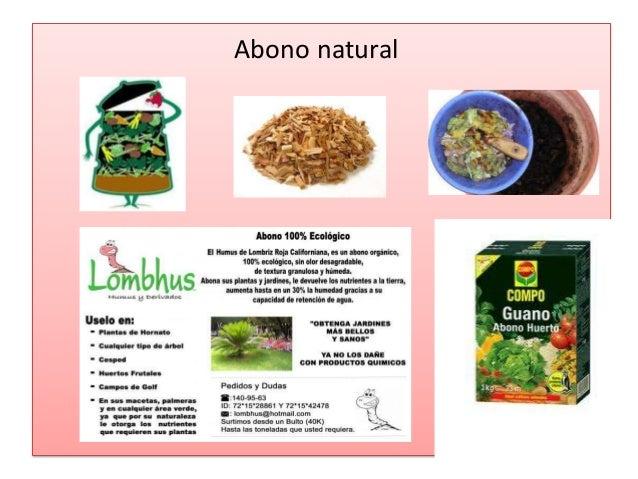 desventaja de los abonos qumicos abono natural