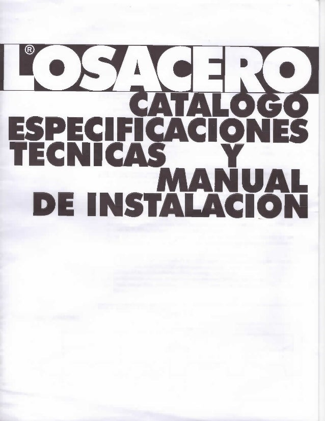 Manual Losacero