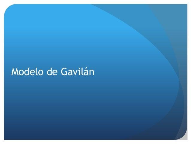 Modelo de Gavilán