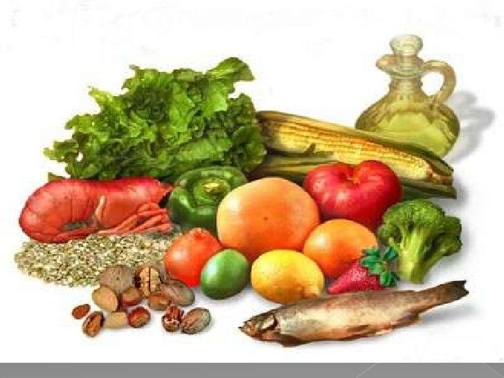 Los alimentos Slide 2