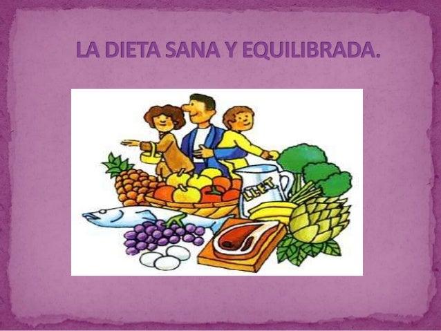 La dieta es el conjunto de alimentos y bebidas que  tomamos habitualmente. La dieta debe ser equilibrada y  suficiente. ¿...