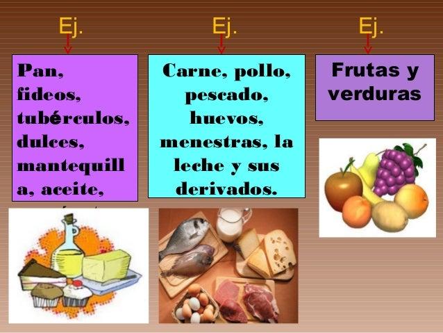 Los alimentos según su función