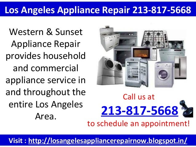 Visit : http://losangelesappliancerepairnow.blogspot.in/ Call us at 213-817-5668 to schedule an appointment! Los Angeles A...