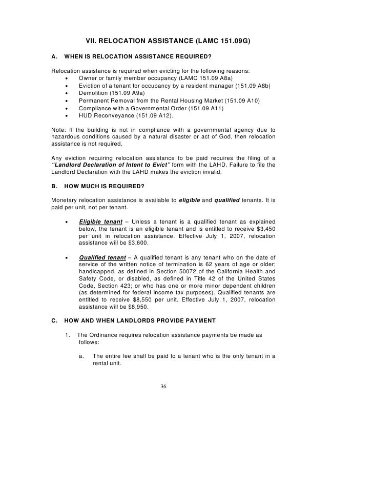 los angeles rent stabilization handbook rent control - Rental Assistance Form