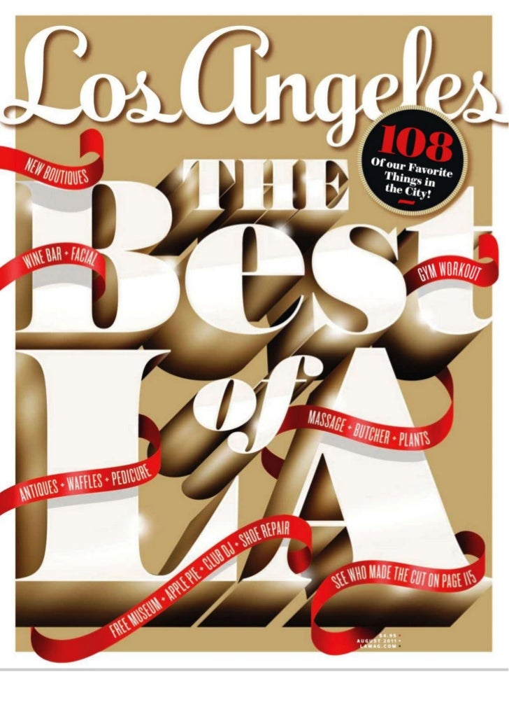 Los angeles magazine 2011 08