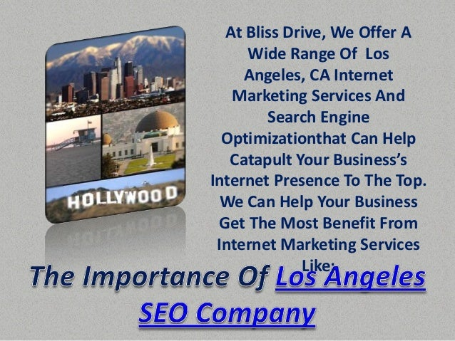 Los Angeles SEO Company            Put The Power Of Local              Search To Work For             Your Business. If Yo...