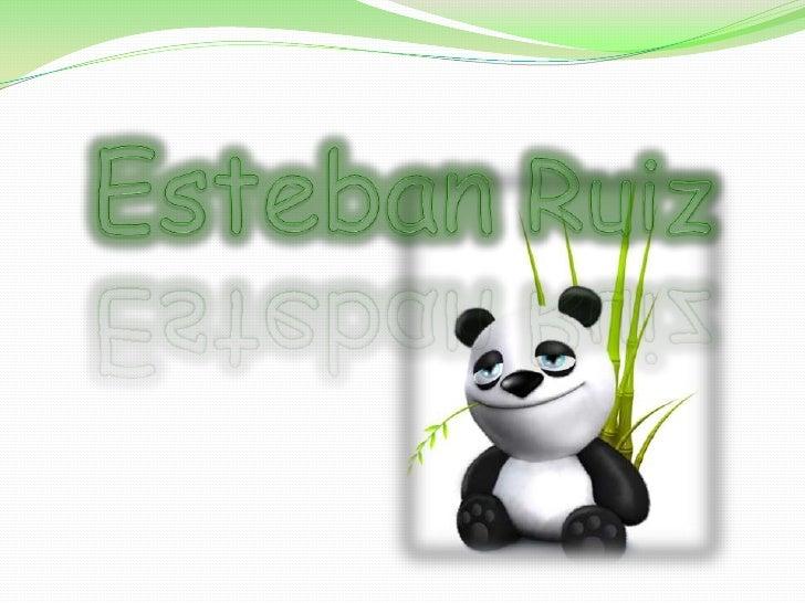 Esteban Ruiz<br />
