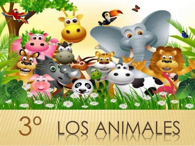 LOS ANIMALES3º