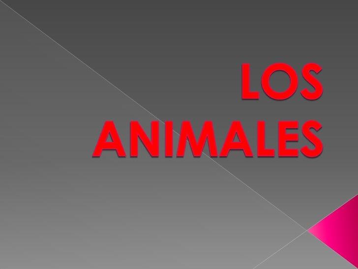 LOSANIMALES<br />