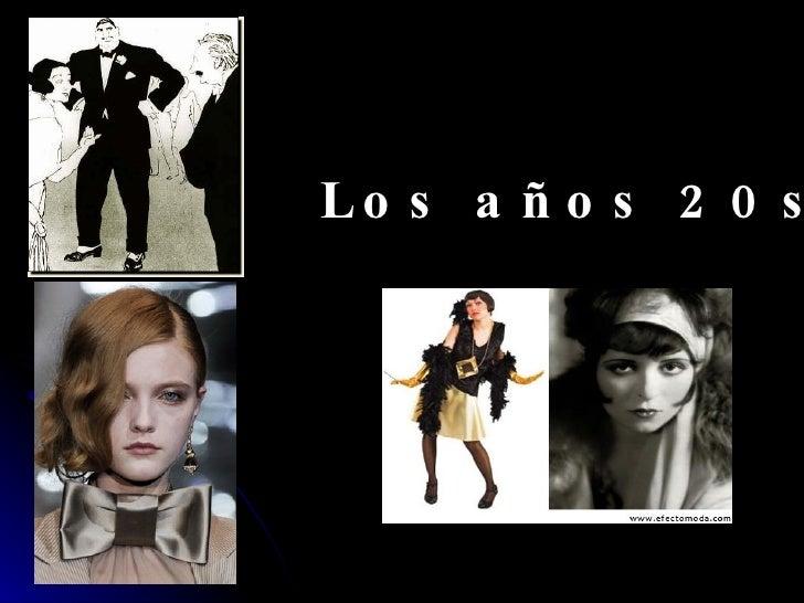 Los años 20s
