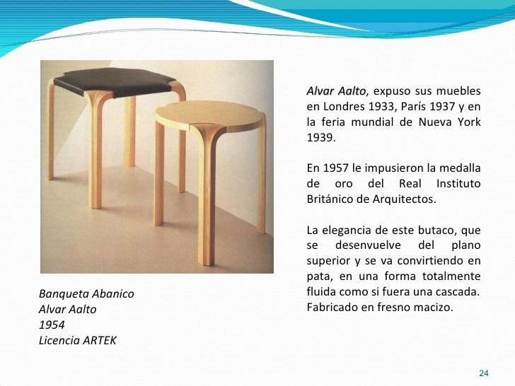 Los arquitectos y sus muebles for Alvar aalto muebles