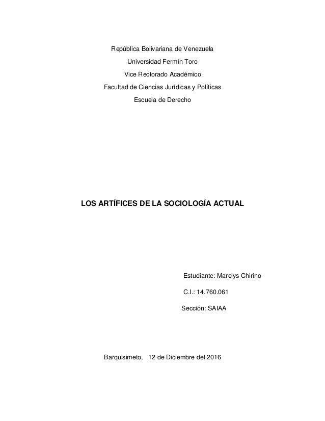 República Bolivariana de Venezuela Universidad Fermín Toro Vice Rectorado Académico Facultad de Ciencias Jurídicas y Polít...