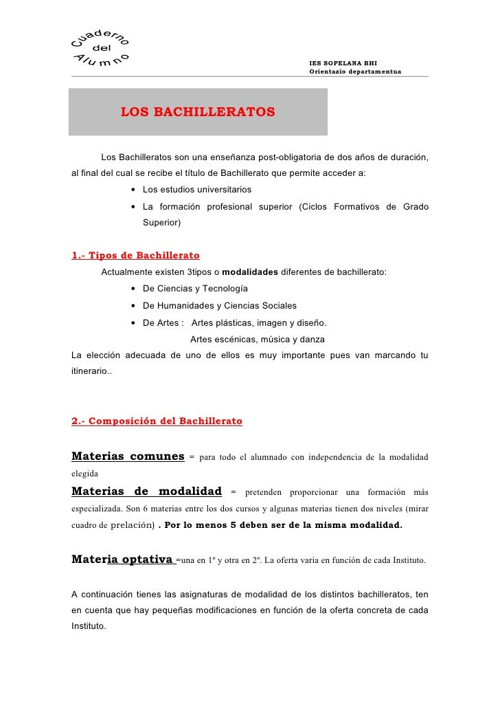 Los Bachilleratos Blog